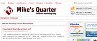 Mikesquarter.com